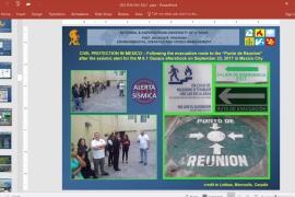 """Webinar """"Διαχείριση Κινδύνων, Καταστροφών και Κρίσεων με τη Χρήση Σύγχρονων Τεχνολογιών σε Εθνικό και Διεθνές Επίπεδο"""""""