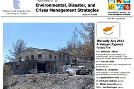 Newsletter #24 - The Early July 2021 Arakapas [Cyprus] Forest Fire