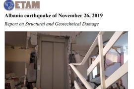 Albania earthquake of November 26, 2019 Report