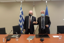 Μνημόνιο Συνεργασίας μεταξύ Δημοκρίτειου Πανεπιστημίου Θράκης  και Ινστιτούτου Τεχνικής Σεισμολογίας και Αντισεισμικών Κατασκευών του ΟΑΣΠ